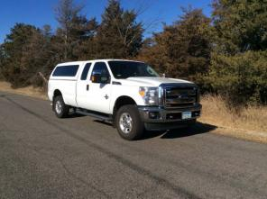 2011 Ford F-250 4X4 Super Cab Pickup truck