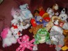 Beanie Babies by the dozen or just 1 at a time shipping extra - $3